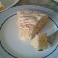 Drizzled Lemon Cream Cake